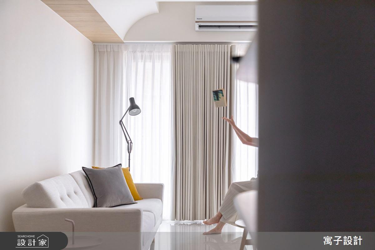 30坪新成屋(5年以下)_北歐風客廳案例圖片_寓子設計_寓子_想像之4
