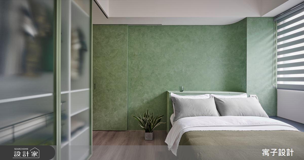 22坪新成屋(5年以下)_休閒風臥室案例圖片_寓子設計_寓子_拾參號之8