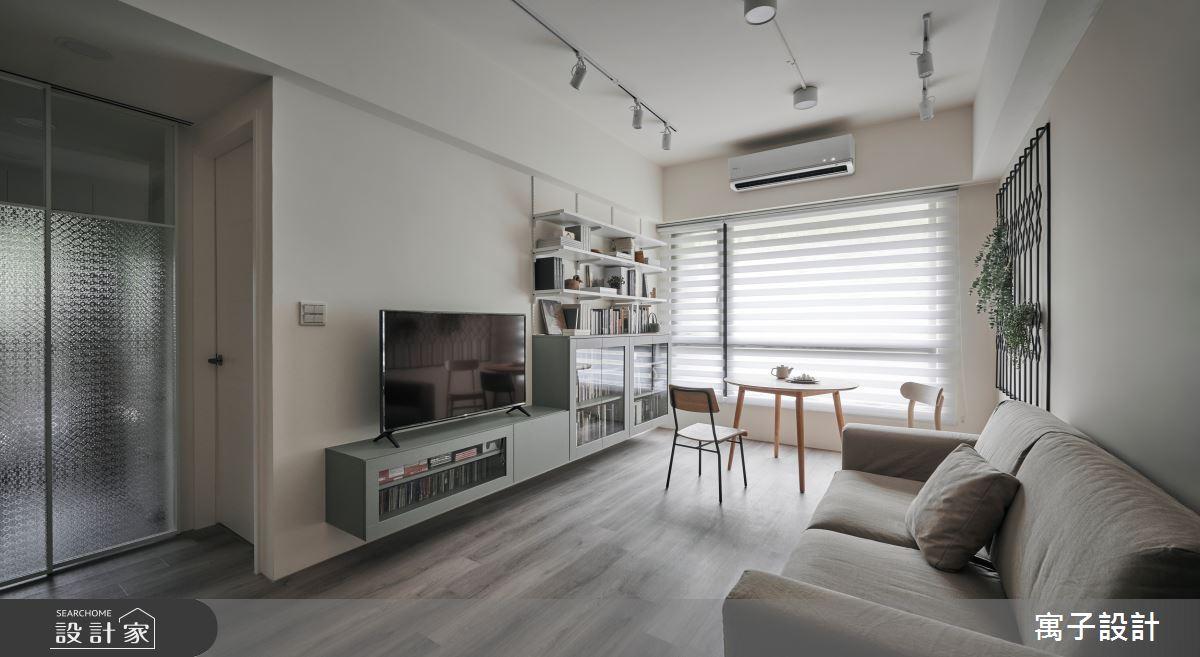 22坪新成屋(5年以下)_休閒風客廳案例圖片_寓子設計_寓子_拾參號之2