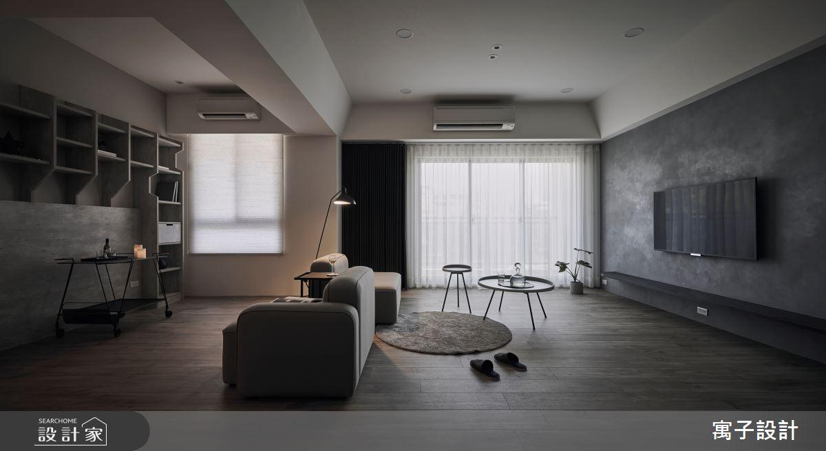 40坪老屋(16~30年)_現代風客廳案例圖片_寓子設計_寓子_醞釀之2
