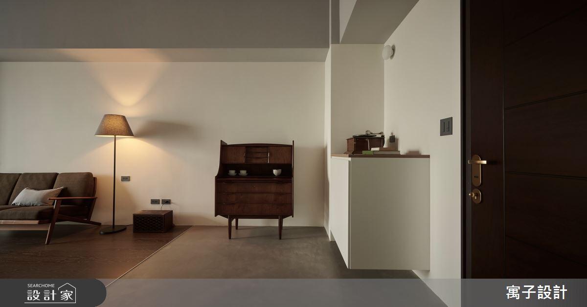 20坪新成屋(5年以下)_日式無印風客廳案例圖片_寓子設計_寓子_念念之3