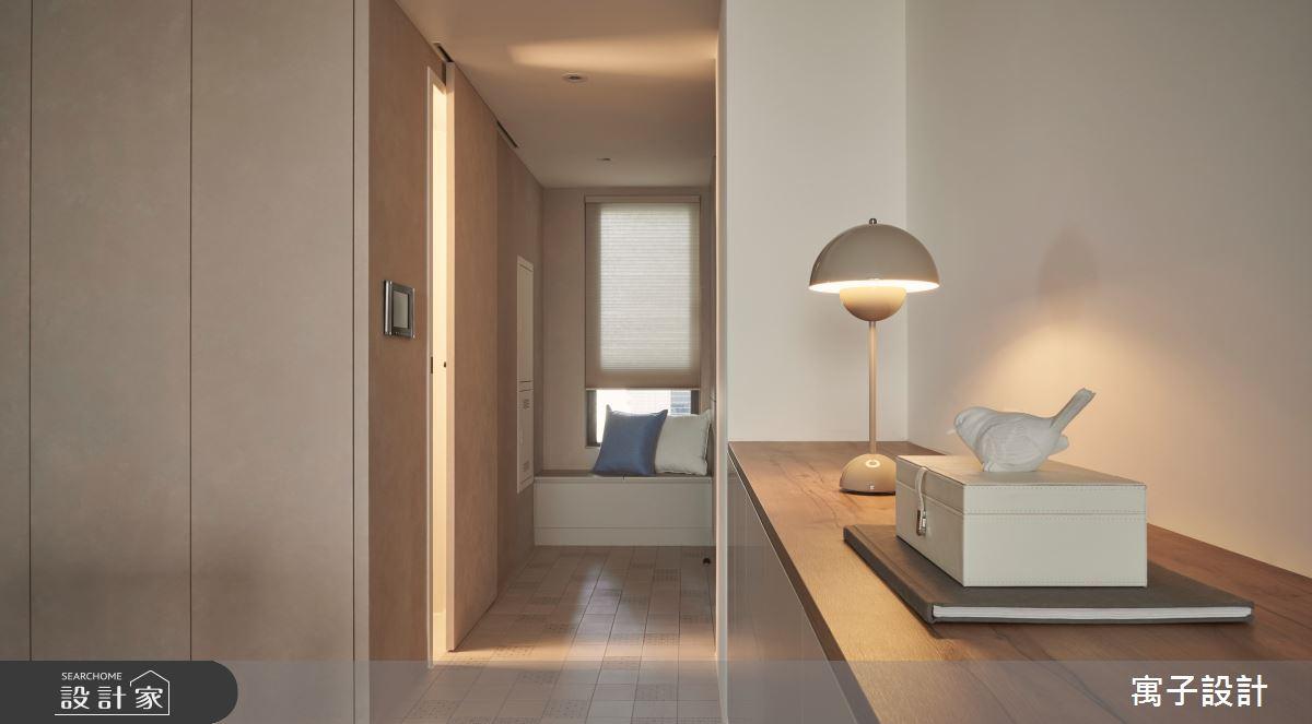 25坪新成屋(5年以下)_北歐風玄關案例圖片_寓子設計_寓子_La Famill之60