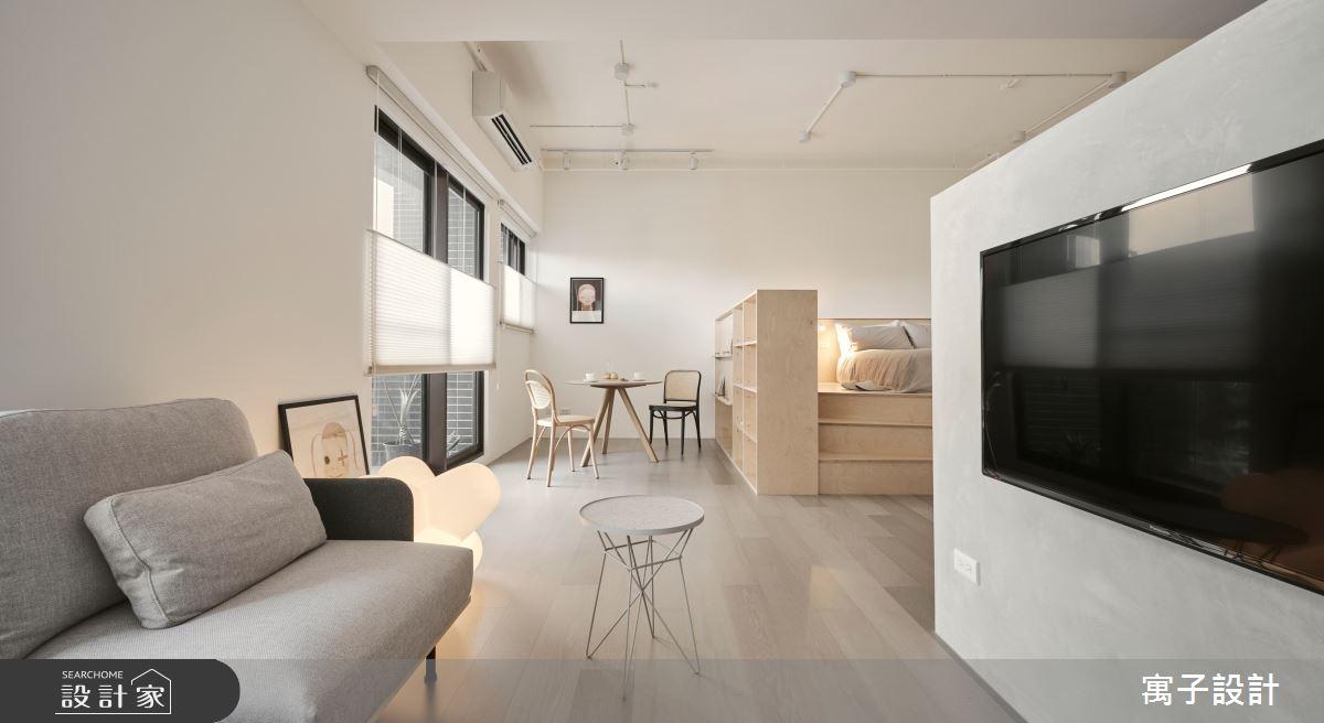 18坪新成屋(5年以下)_現代風客廳案例圖片_寓子設計_寓子_mumi之3
