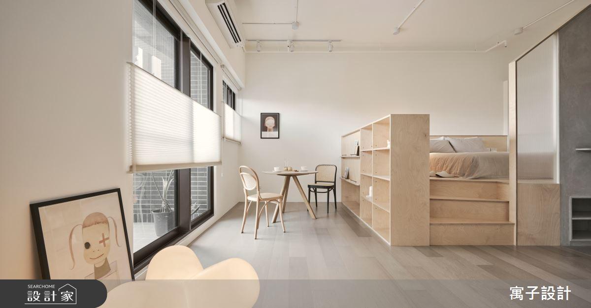 18坪新成屋(5年以下)_現代風餐廳案例圖片_寓子設計_寓子_mumi之4