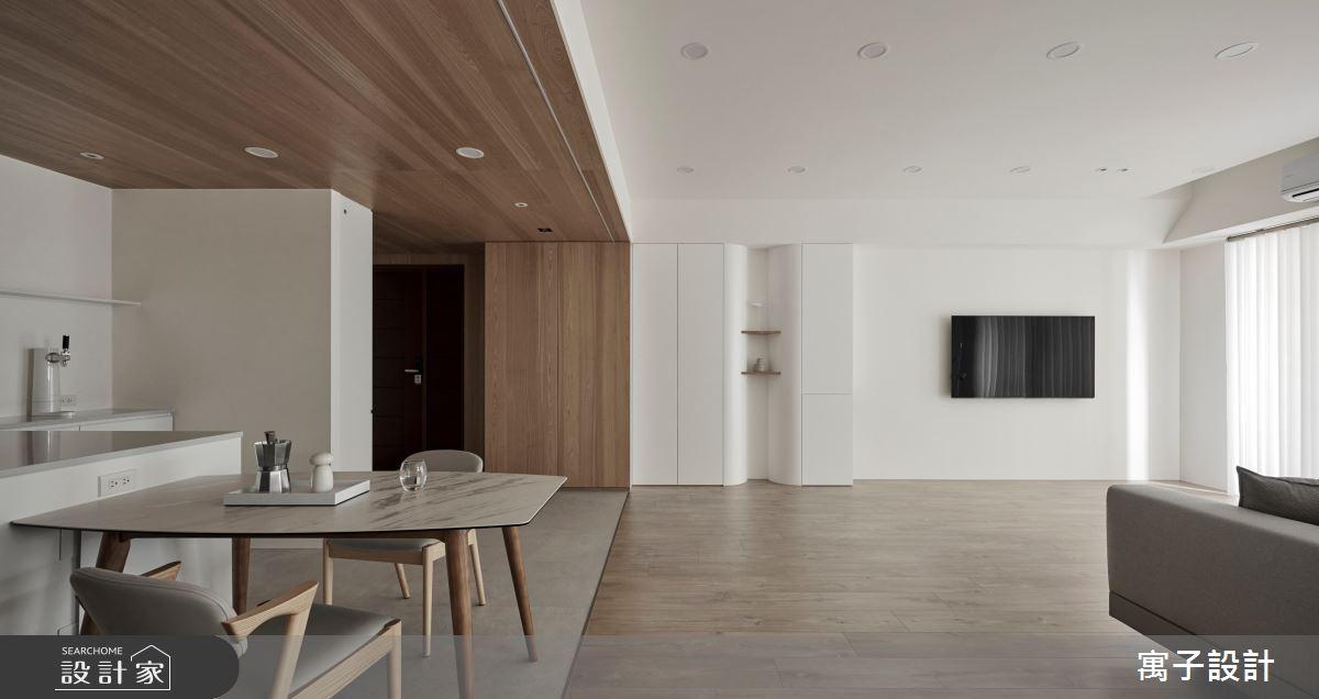 50坪老屋(16~30年)_北歐風餐廳案例圖片_寓子設計_寓子_Volume之3
