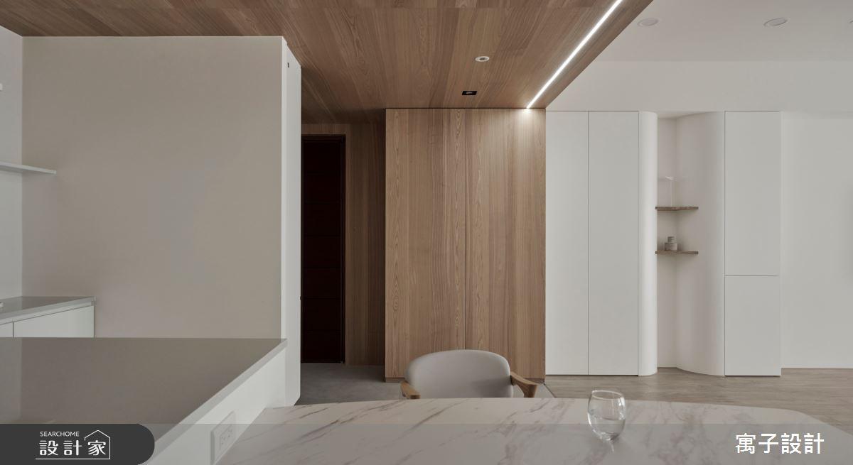 50坪老屋(16~30年)_北歐風餐廳案例圖片_寓子設計_寓子_Volume之4