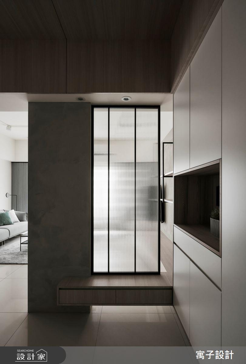 45坪新成屋(5年以下)_現代風玄關案例圖片_寓子設計_寓子_原生之3