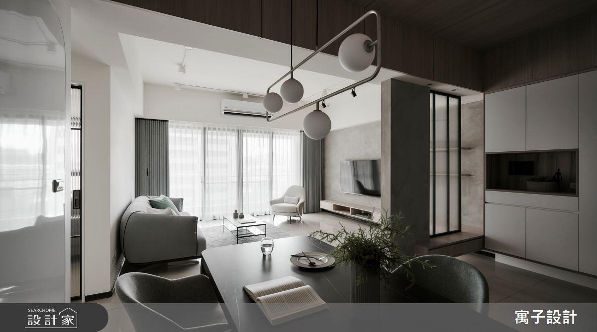 45坪新成屋(5年以下)_現代風玄關案例圖片_寓子設計_寓子_原生之4