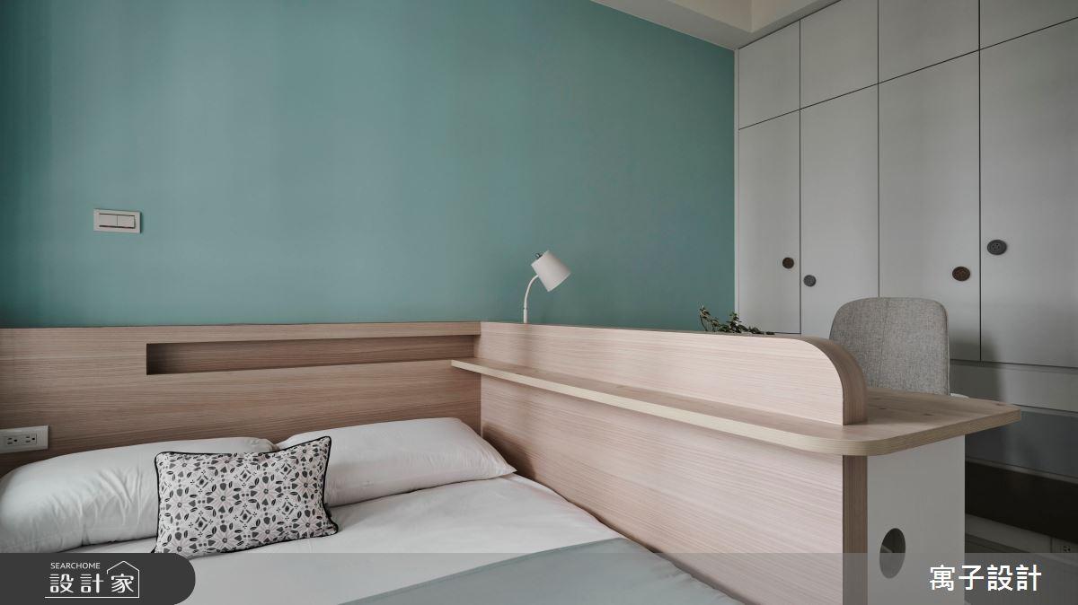 45坪新成屋(5年以下)_現代風臥室案例圖片_寓子設計_寓子_原生之15