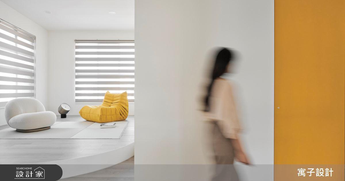 25坪老屋(16~30年)_北歐風客廳案例圖片_寓子設計_寓子_曦之5