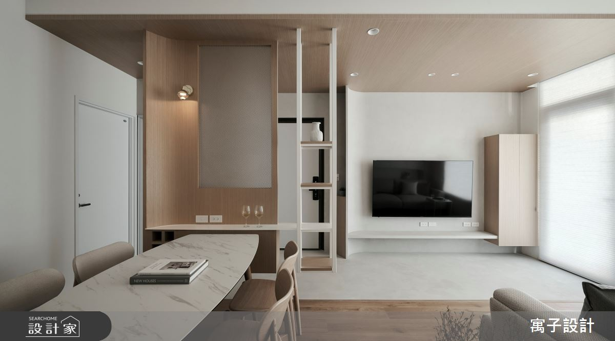 36坪新成屋(5年以下)_北歐風案例圖片_寓子設計_寓子_浮雲之8