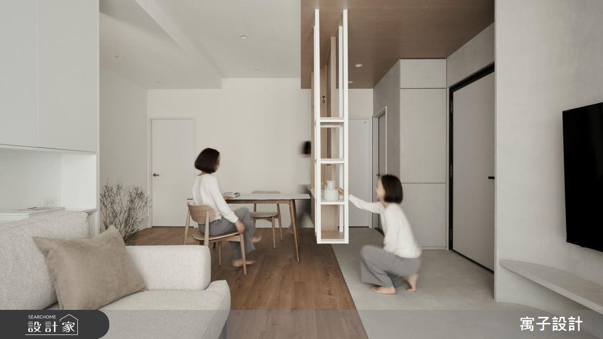 36坪新成屋(5年以下)_北歐風案例圖片_寓子設計_寓子_浮雲之10