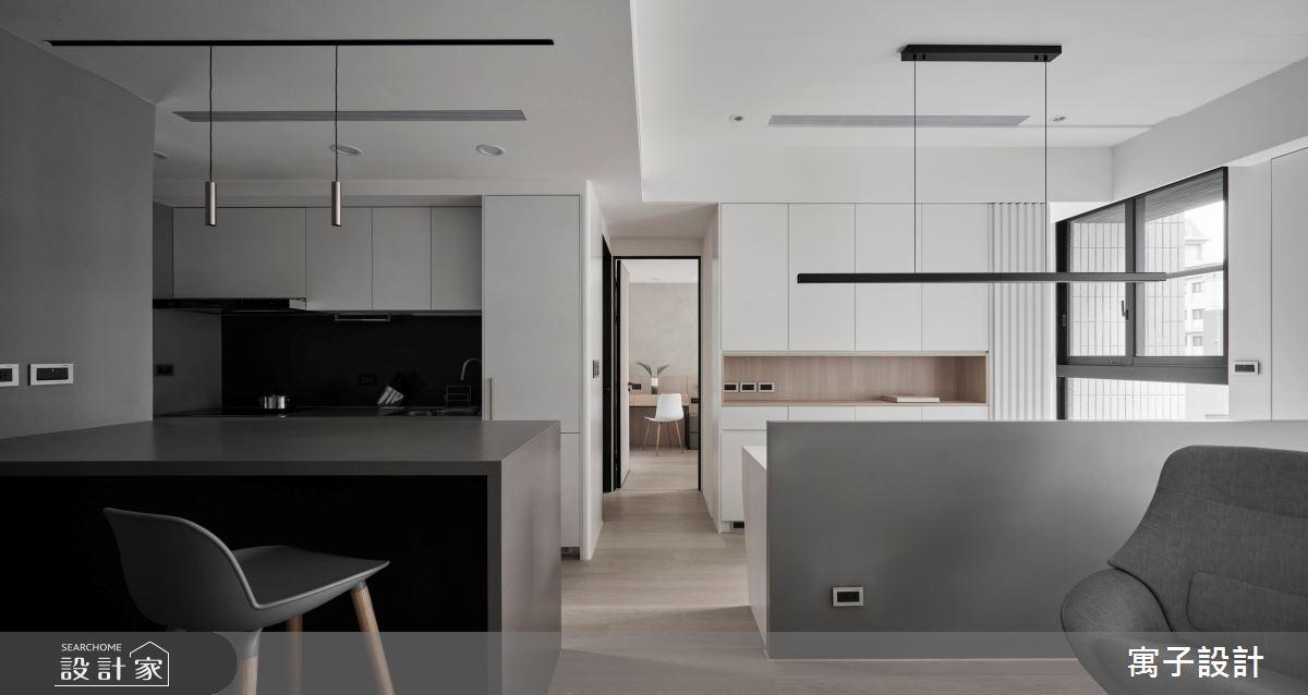 25坪新成屋(5年以下)_北歐風案例圖片_寓子設計_寓子_C大調之6