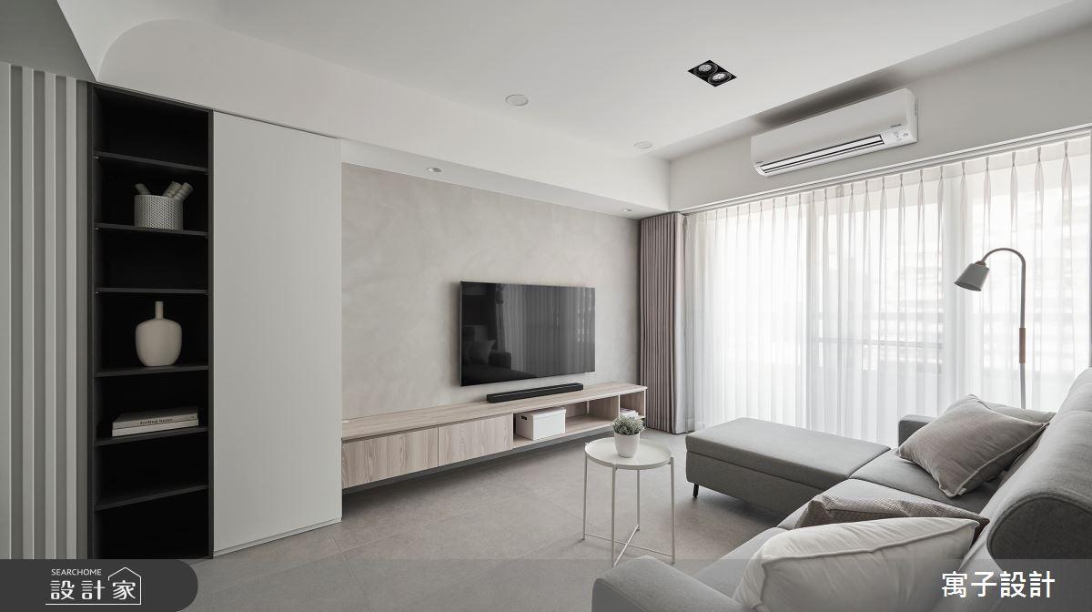 40坪老屋(16~30年)_北歐風案例圖片_寓子設計_寓子_生活有行-凝聚之2