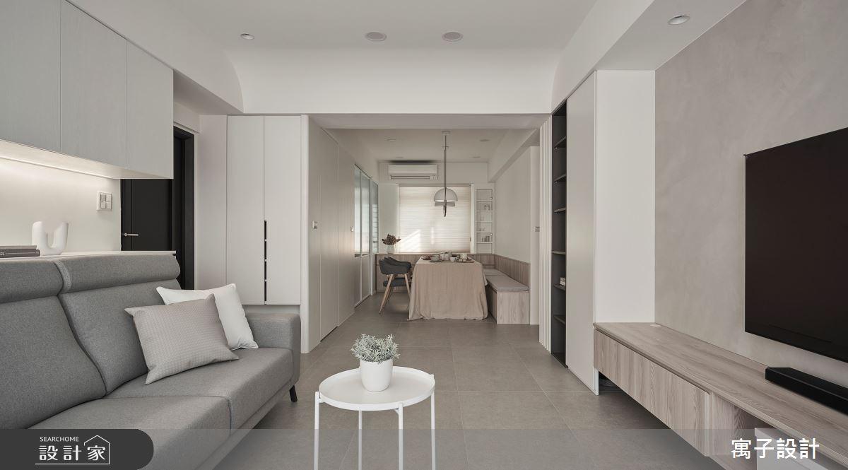 40坪老屋(16~30年)_北歐風案例圖片_寓子設計_寓子_生活有行-凝聚之4