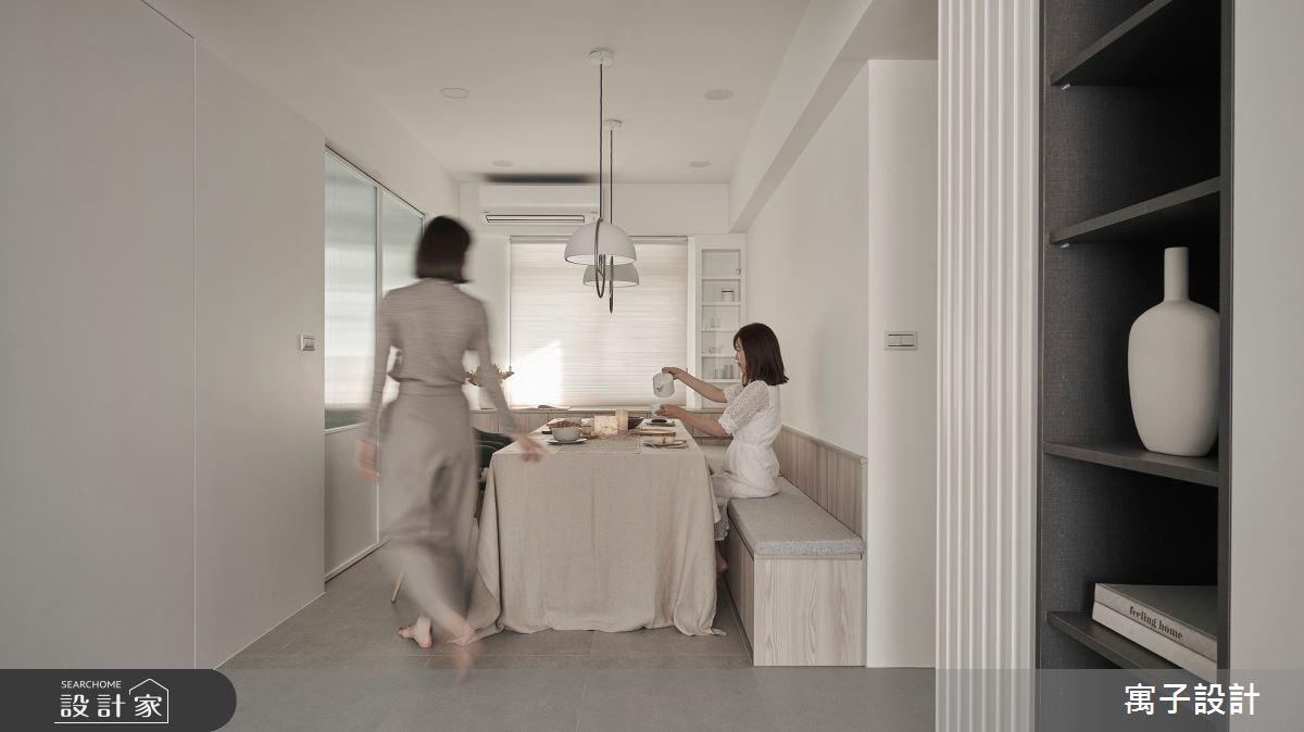 40坪老屋(16~30年)_北歐風案例圖片_寓子設計_寓子_生活有行-凝聚之5