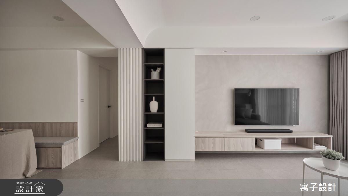 40坪老屋(16~30年)_北歐風案例圖片_寓子設計_寓子_生活有行-凝聚之1