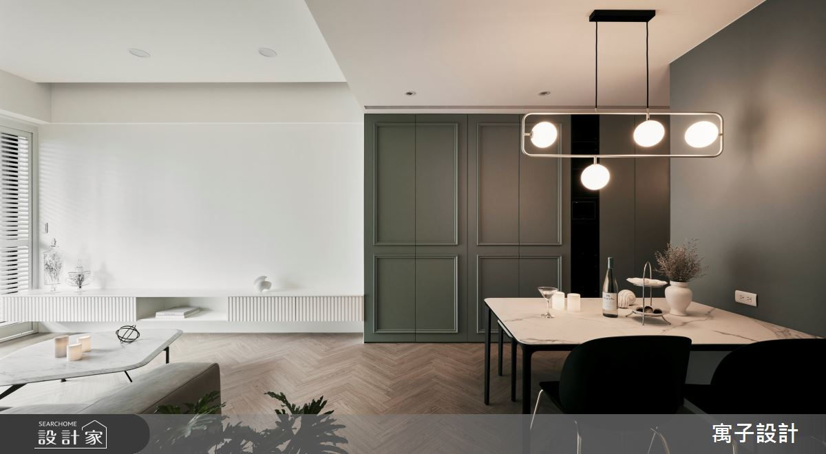 30坪新成屋(5年以下)_美式風案例圖片_寓子設計_寓子_Olive tree之3