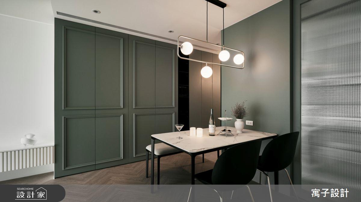 30坪新成屋(5年以下)_美式風案例圖片_寓子設計_寓子_Olive tree之4