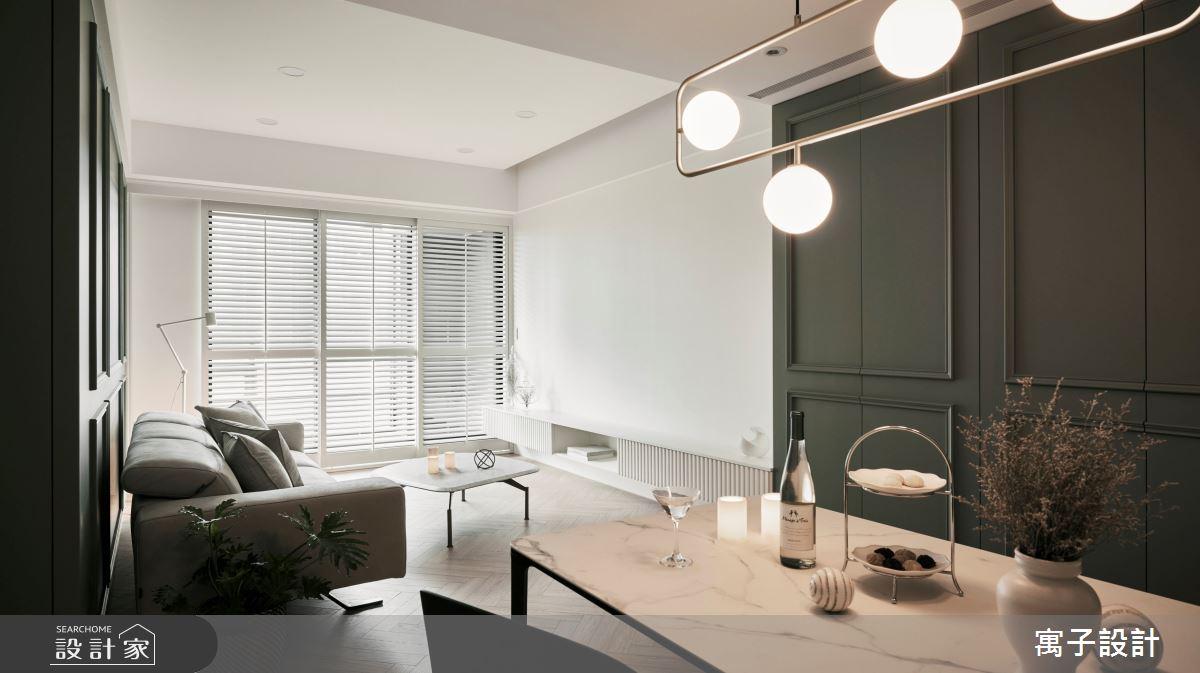 30坪新成屋(5年以下)_美式風案例圖片_寓子設計_寓子_Olive tree之9