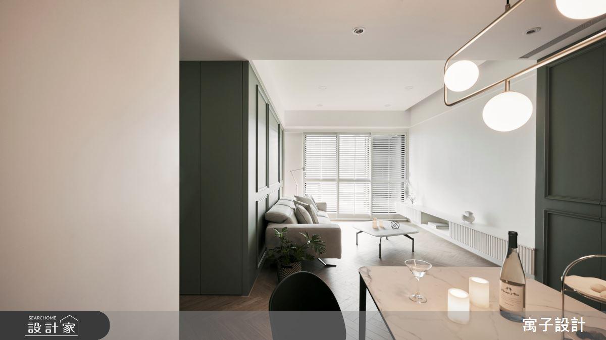 30坪新成屋(5年以下)_美式風案例圖片_寓子設計_寓子_Olive tree之8