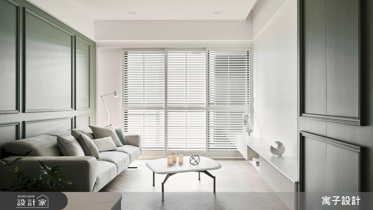 30坪新成屋(5年以下)_美式風案例圖片_寓子設計_寓子_Olive tree之10