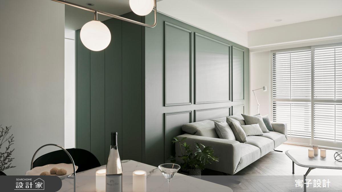 30坪新成屋(5年以下)_美式風案例圖片_寓子設計_寓子_Olive tree之7