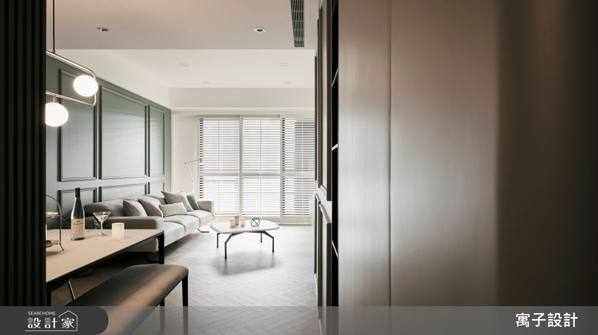 30坪新成屋(5年以下)_美式風案例圖片_寓子設計_寓子_Olive tree之5