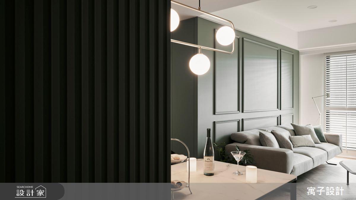 30坪新成屋(5年以下)_美式風案例圖片_寓子設計_寓子_Olive tree之6