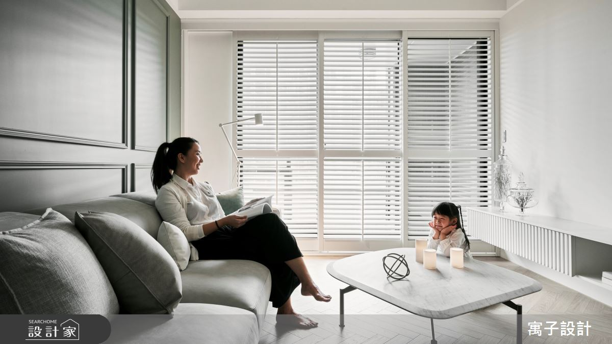 30坪新成屋(5年以下)_美式風案例圖片_寓子設計_寓子_Olive tree之11