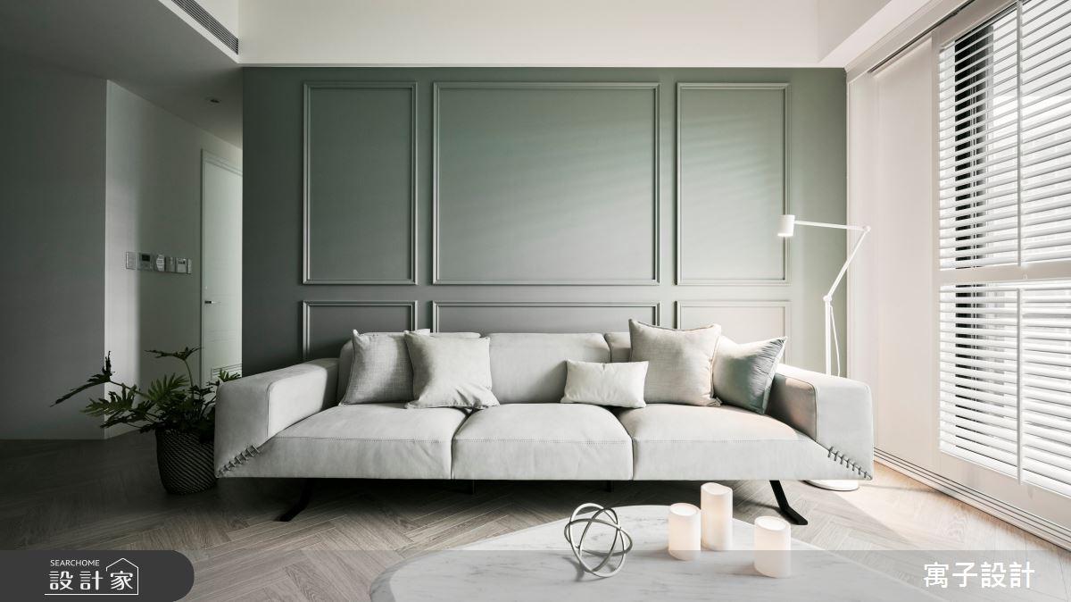 30坪新成屋(5年以下)_美式風案例圖片_寓子設計_寓子_Olive tree之12
