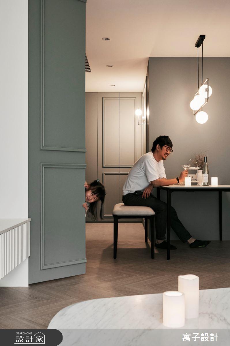 30坪新成屋(5年以下)_美式風案例圖片_寓子設計_寓子_Olive tree之14