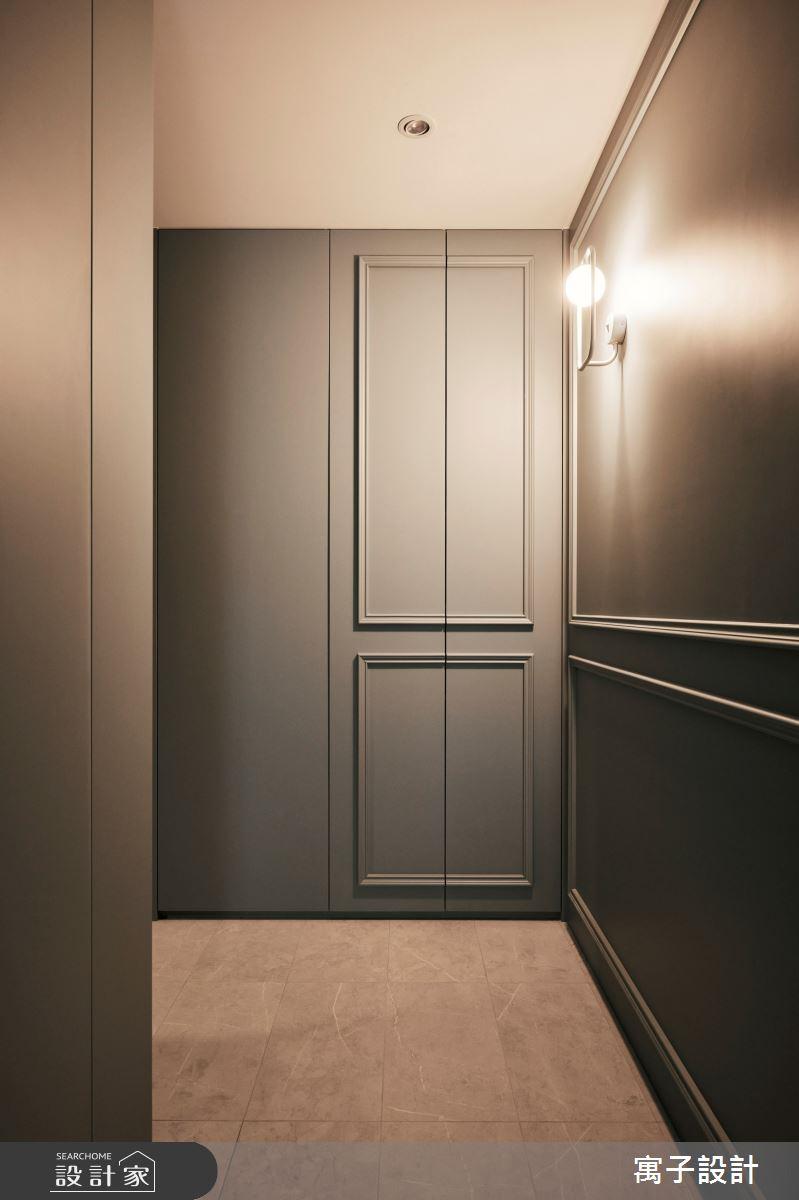 30坪新成屋(5年以下)_美式風案例圖片_寓子設計_寓子_Olive tree之1