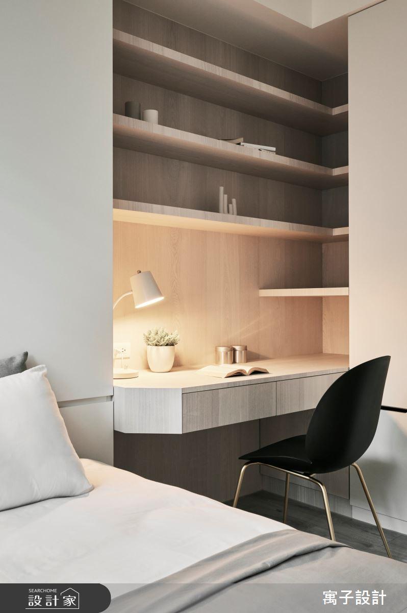30坪新成屋(5年以下)_美式風案例圖片_寓子設計_寓子_Olive tree之20
