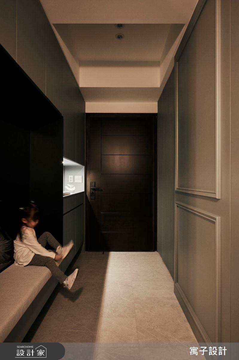 30坪新成屋(5年以下)_美式風案例圖片_寓子設計_寓子_Olive tree之2