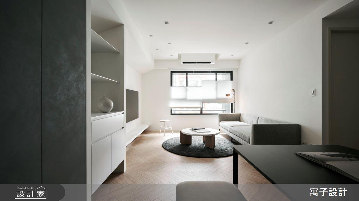 30坪新成屋(5年以下)_現代風案例圖片_寓子設計_寓子_浮石之4