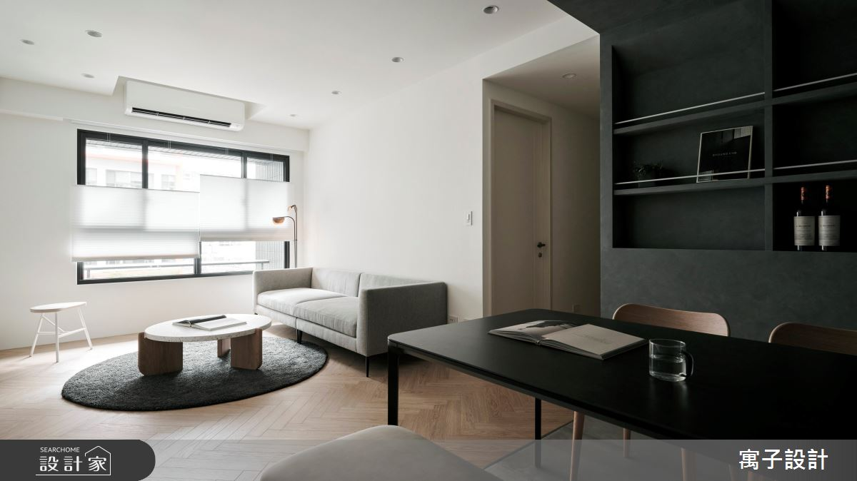 30坪新成屋(5年以下)_現代風案例圖片_寓子設計_寓子_浮石之2