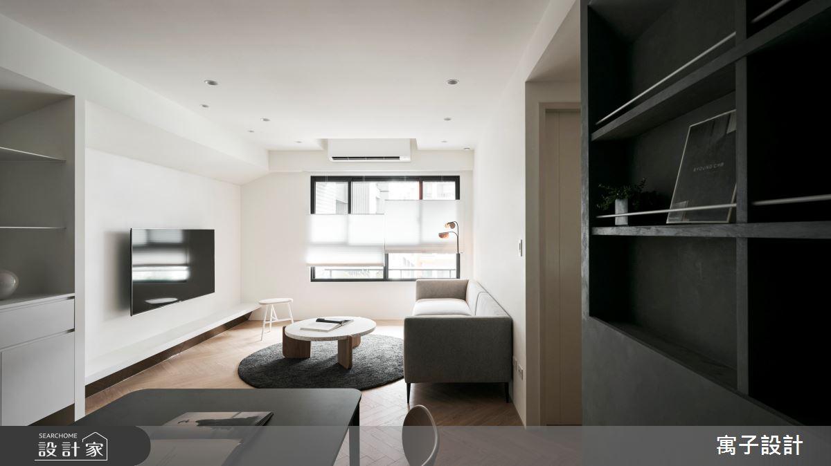 30坪新成屋(5年以下)_現代風案例圖片_寓子設計_寓子_浮石之3