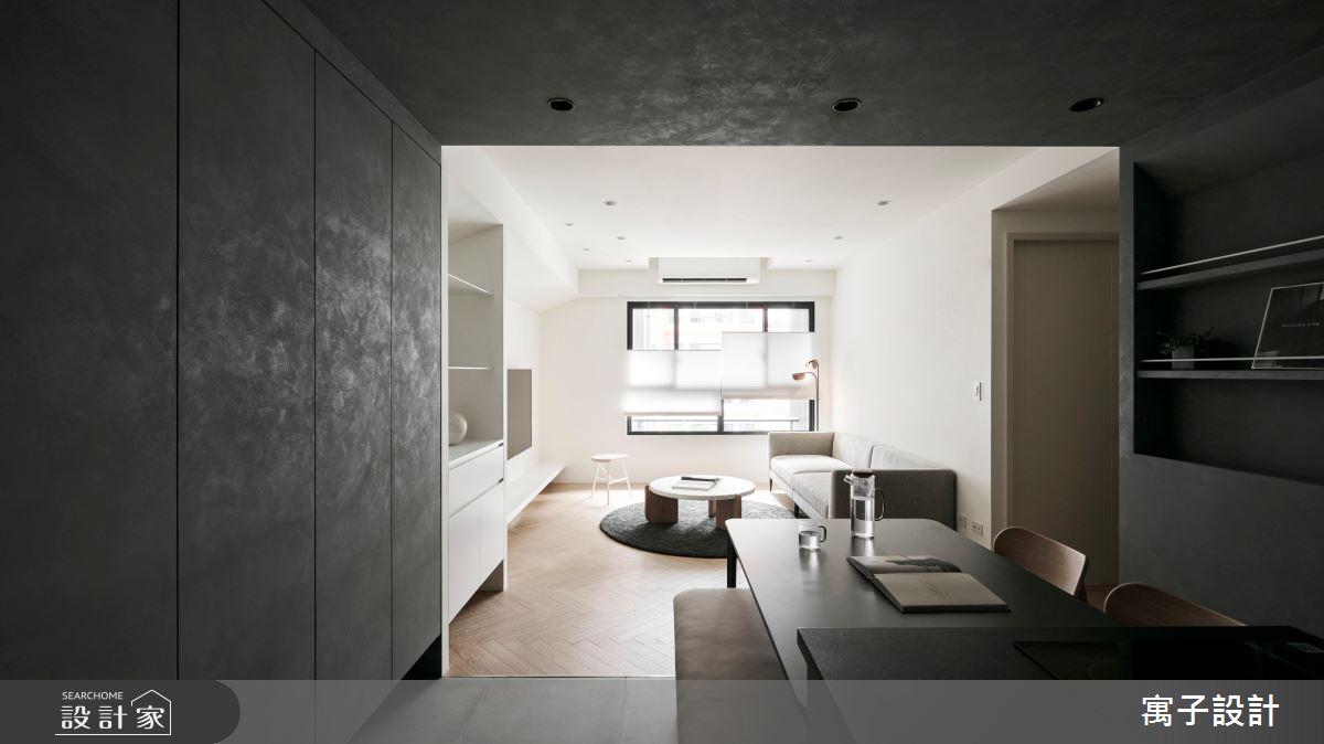 30坪新成屋(5年以下)_現代風案例圖片_寓子設計_寓子_浮石之1