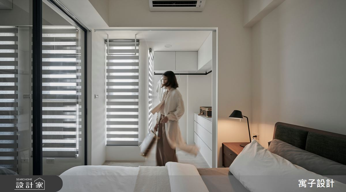16坪新成屋(5年以下)_北歐風臥室案例圖片_寓子設計_寓子_漂流銀河之7