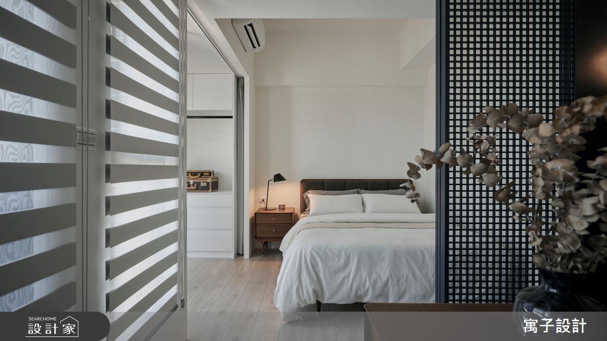16坪新成屋(5年以下)_北歐風臥室案例圖片_寓子設計_寓子_漂流銀河之8