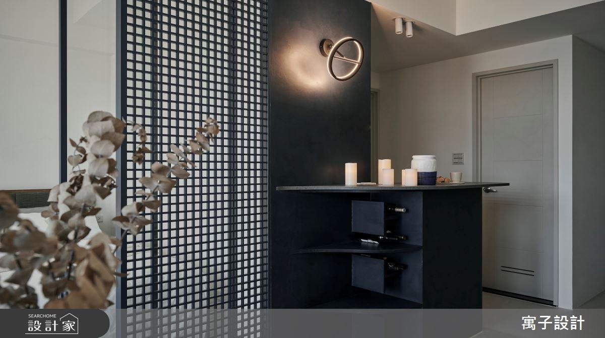 16坪新成屋(5年以下)_北歐風吧檯案例圖片_寓子設計_寓子_漂流銀河之9