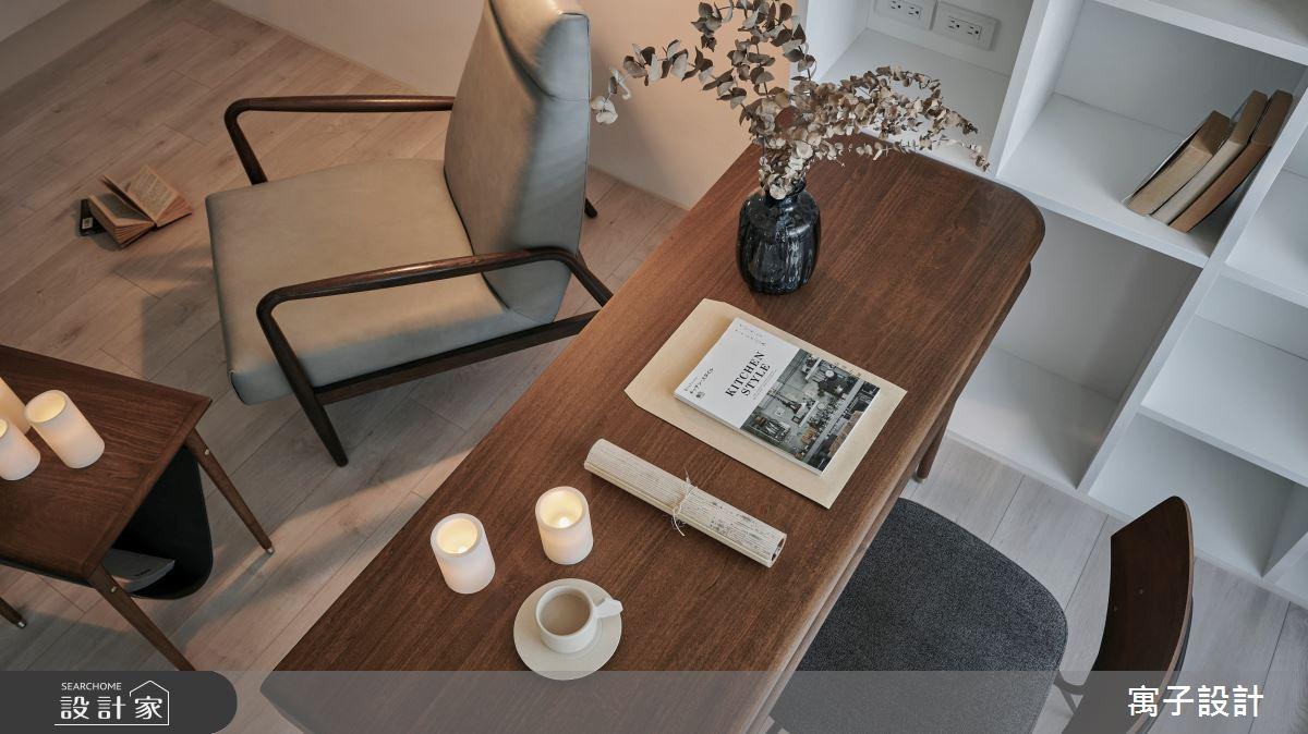 16坪新成屋(5年以下)_北歐風客廳書房案例圖片_寓子設計_寓子_漂流銀河之10