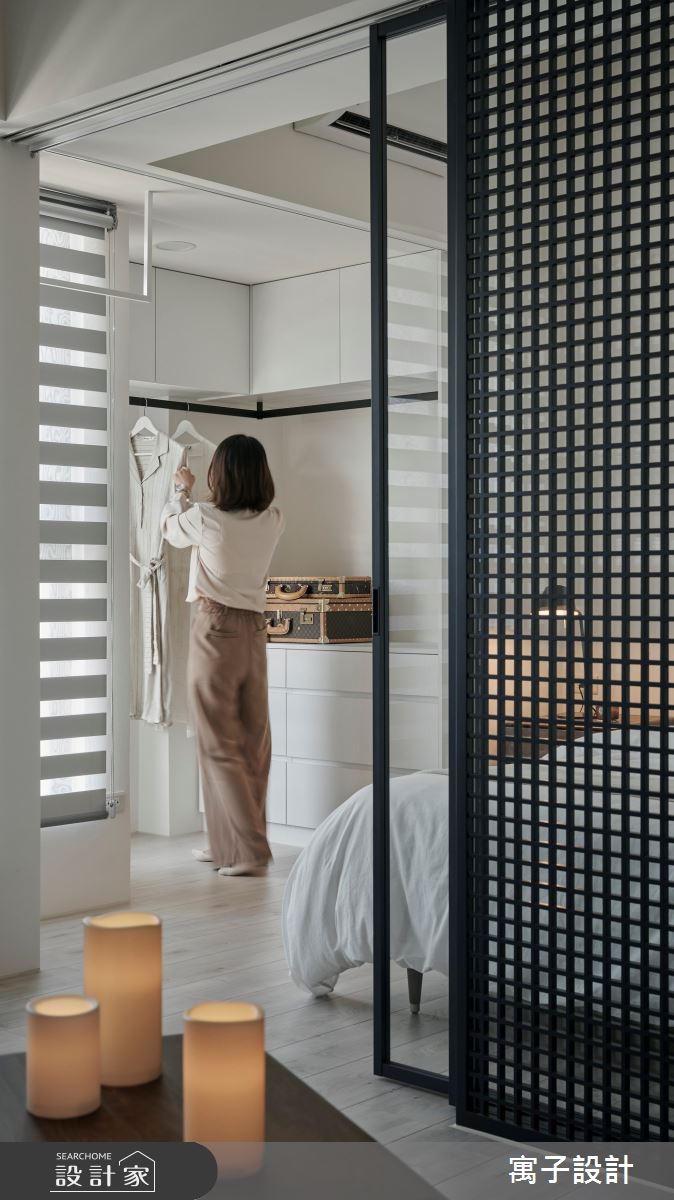 16坪新成屋(5年以下)_北歐風臥室案例圖片_寓子設計_寓子_漂流銀河之11