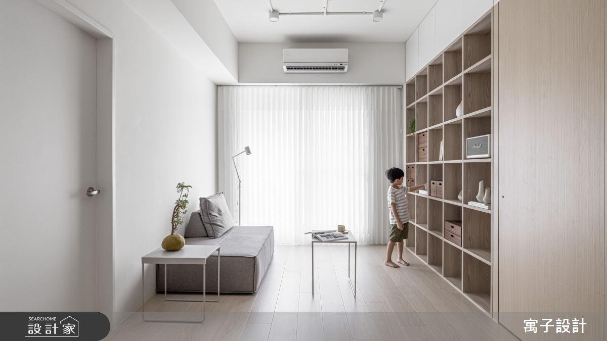 20坪新成屋(5年以下)_北歐風案例圖片_寓子設計_寓子_禾禾之1