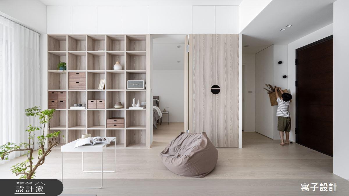 20坪新成屋(5年以下)_北歐風案例圖片_寓子設計_寓子_禾禾之2