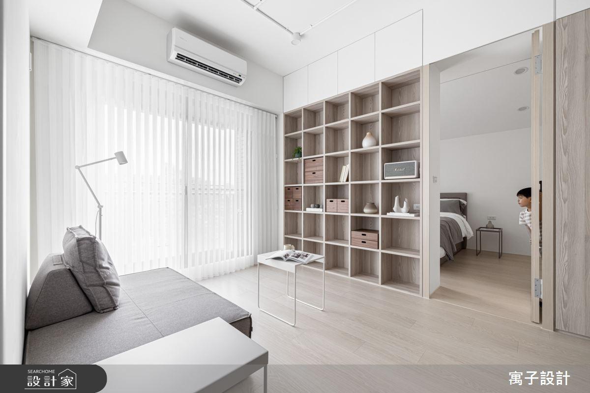 20坪新成屋(5年以下)_北歐風案例圖片_寓子設計_寓子_禾禾之3