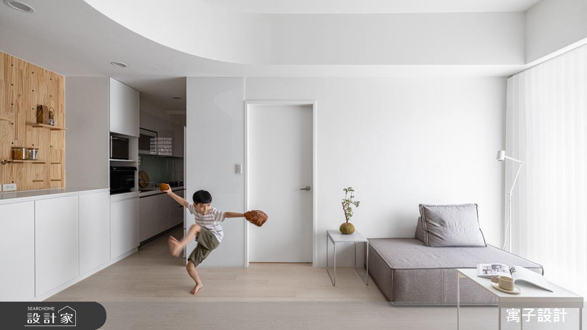 20坪新成屋(5年以下)_北歐風案例圖片_寓子設計_寓子_禾禾之5