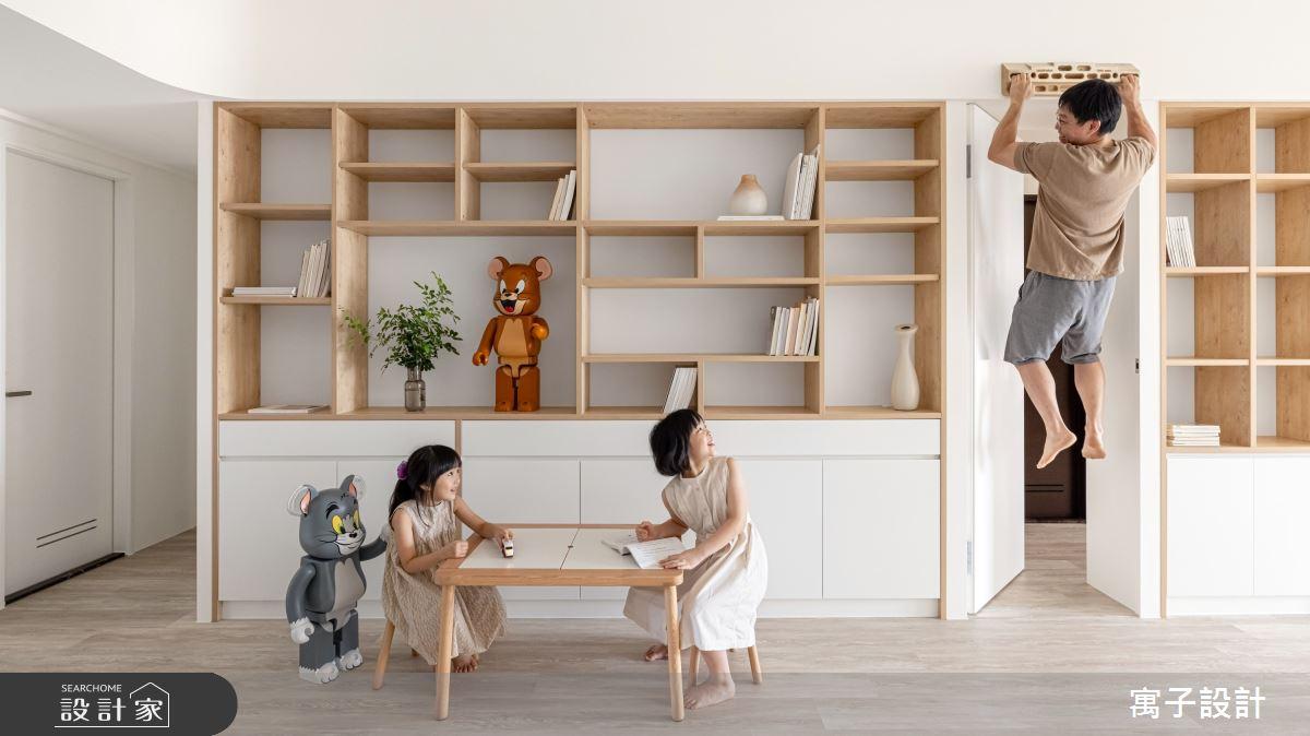 30坪新成屋(5年以下)_北歐風案例圖片_寓子設計_寓子_Girls之4