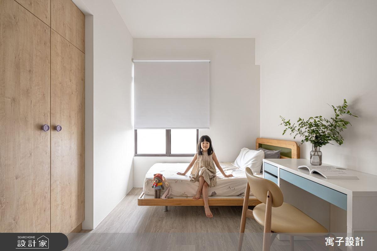 30坪新成屋(5年以下)_北歐風案例圖片_寓子設計_寓子_Girls之11